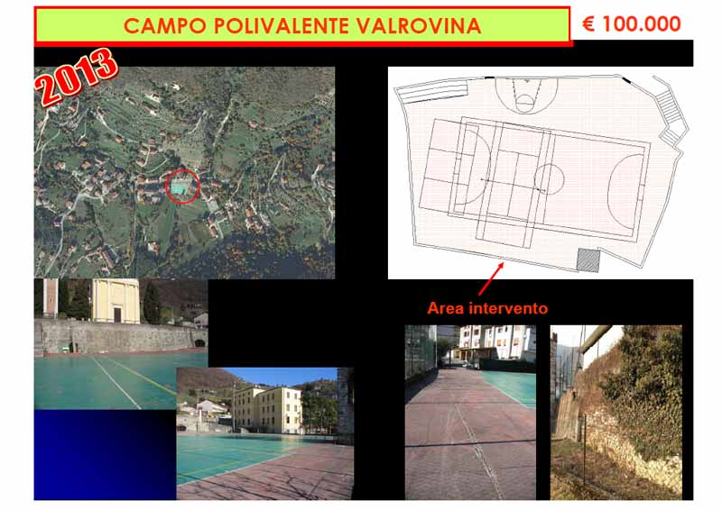 Campo polivalente Valrovina