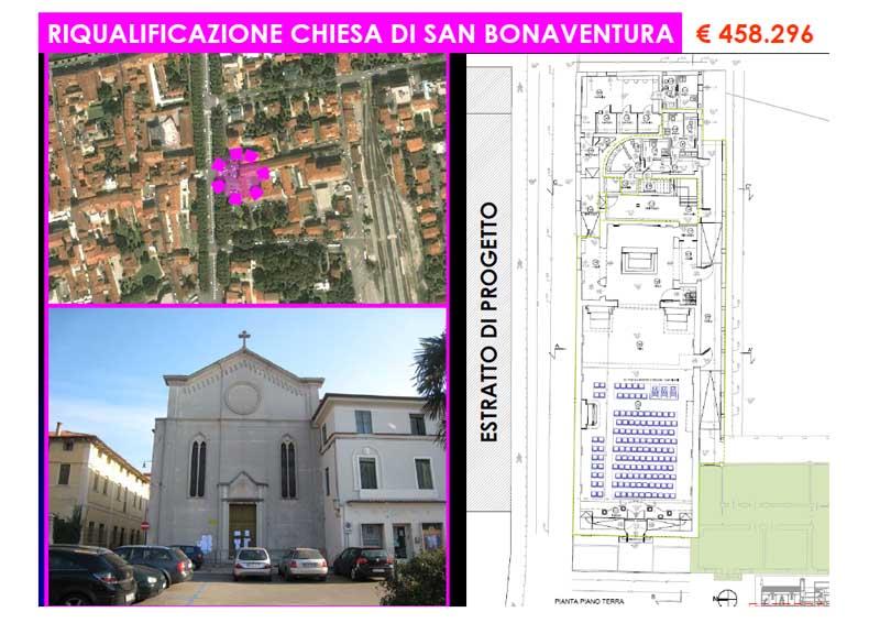 Riqualificazione Chiesa di San Bonaventura