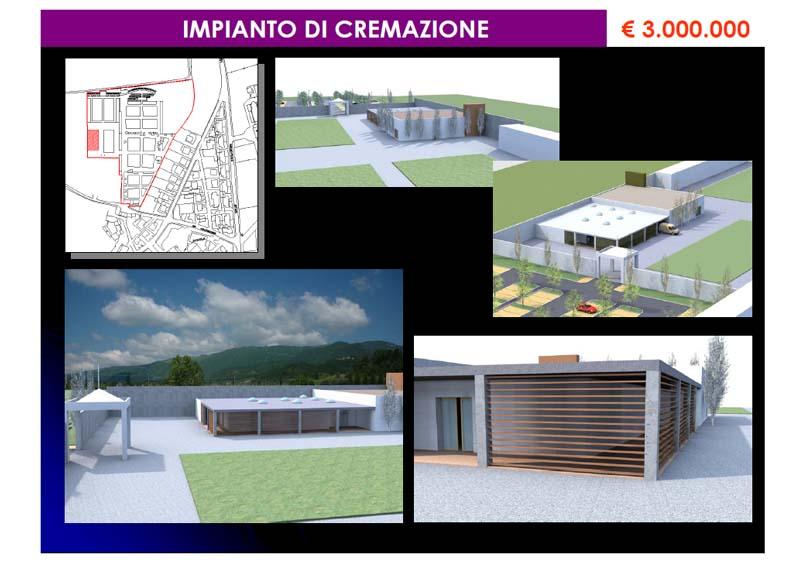 Impianto di cremazione