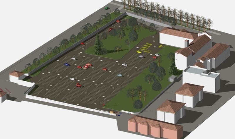 """Parcheggio """"Le Piazze"""": dati di utilizzo"""