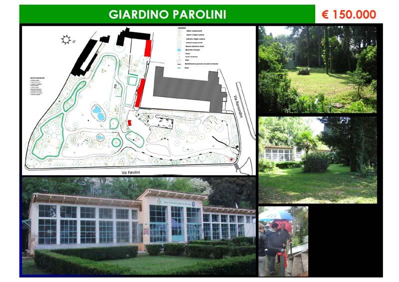 """Verde – Intervento """"Giardino Parolini"""""""