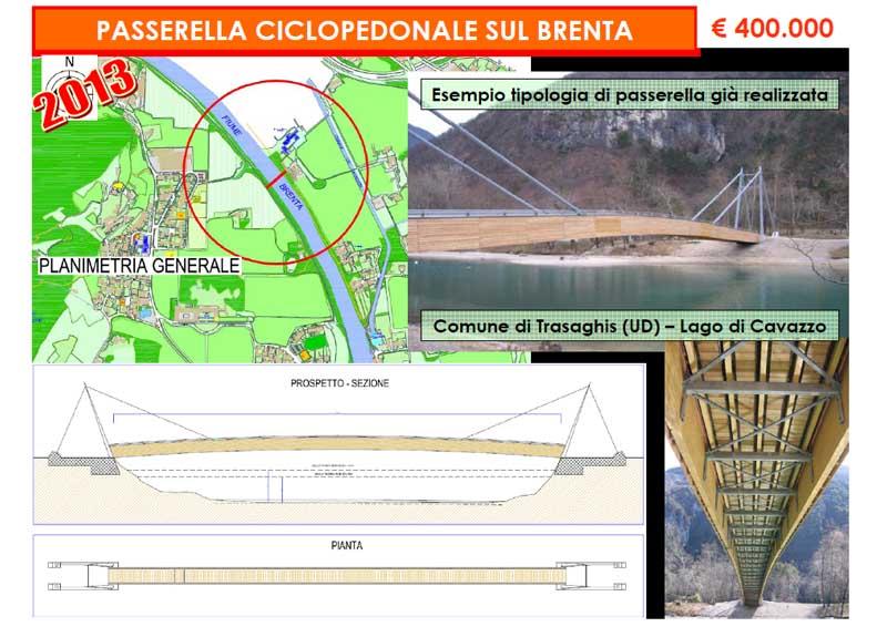 Passerella Ciclopedonale sul Brenta
