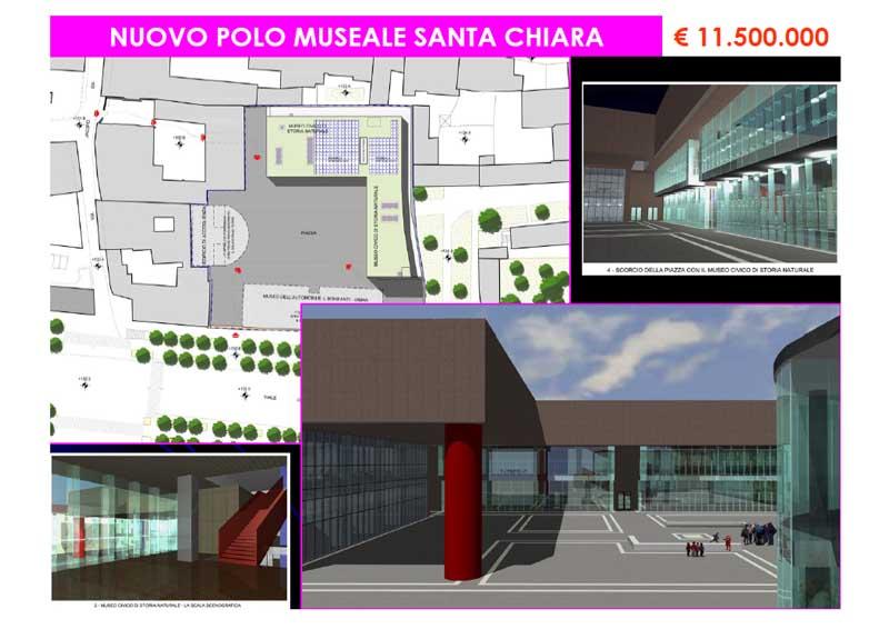 Nuovo polo museale Santa Chiara
