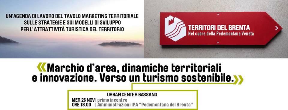 Marchio d'area, dinamiche territoriali e innovazione. Verso un turismo sostenibile.