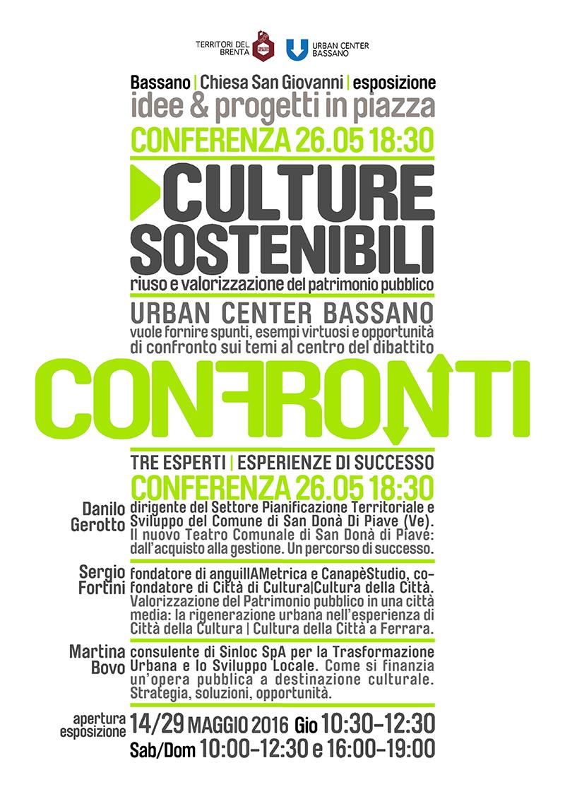 Culture Sostenibili | riuso e valorizzazione del patrimonio pubblico
