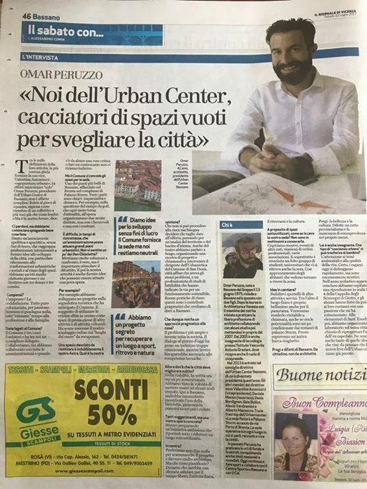 """""""Noi dell'Urban Center, cacciatori di spazi vuoti per svegliare la città"""" – Giornale di Vicenza"""