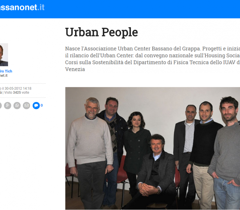 Urban People – Bassanonet