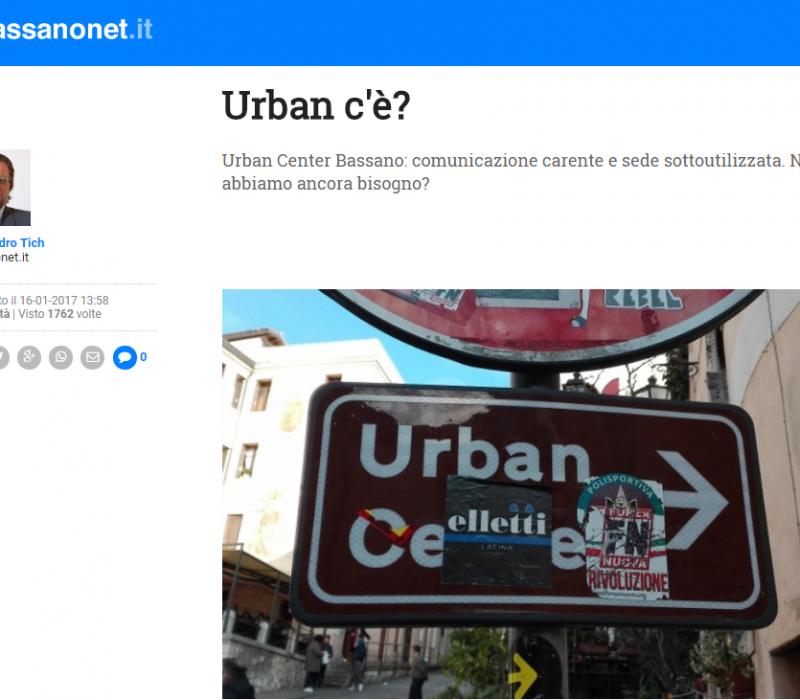 Urban c'è? – Bassanonet