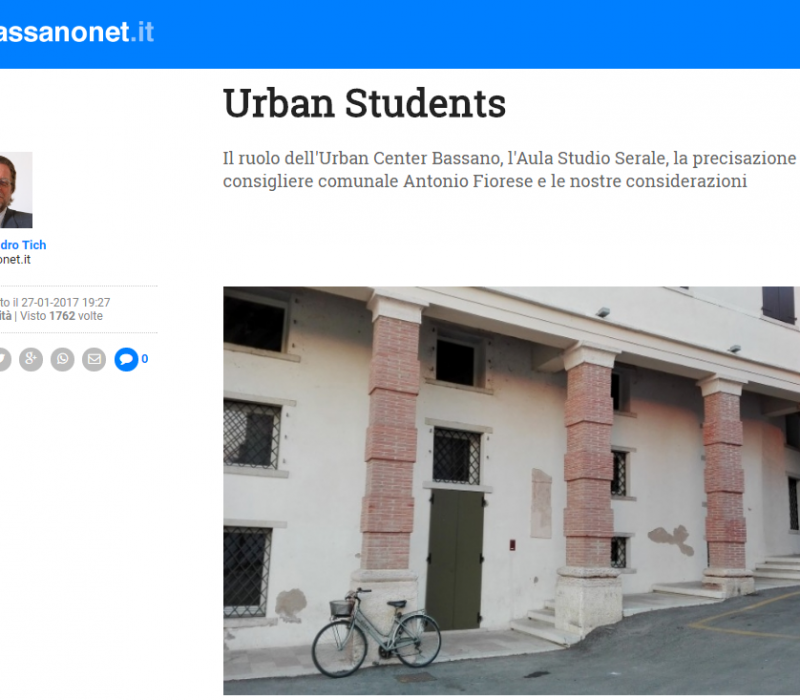 Urban Students – Bassanonet