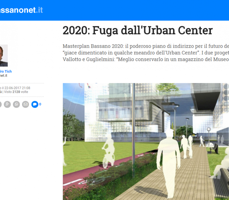 2020: Fuga dall'Urban Center