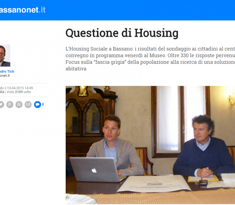 Questione di Housing – Bassanonet