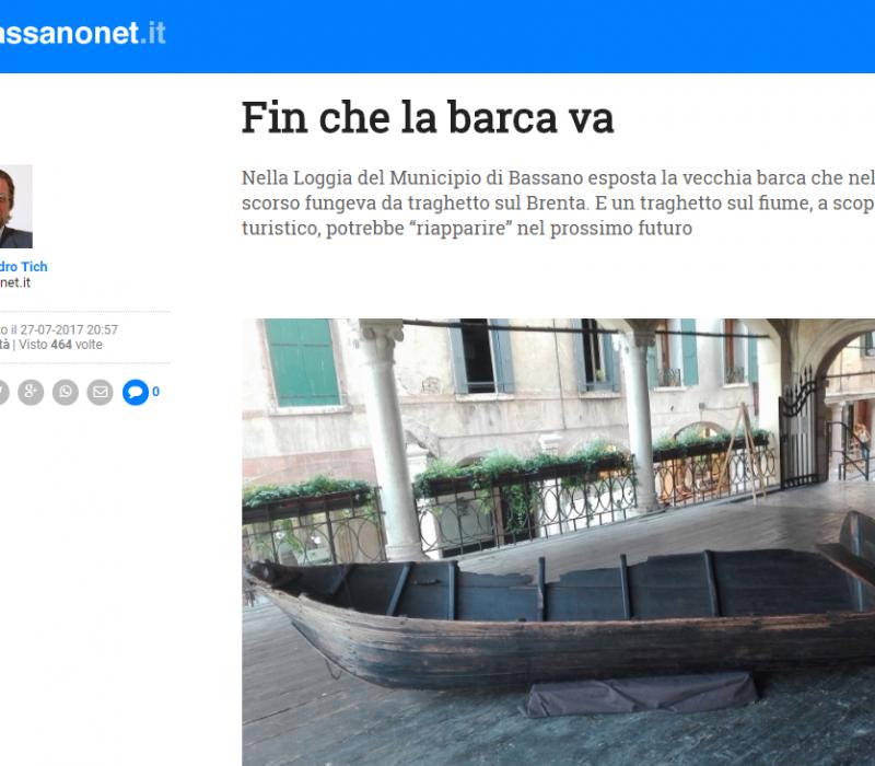 Fin che la barca va – Bassanonet