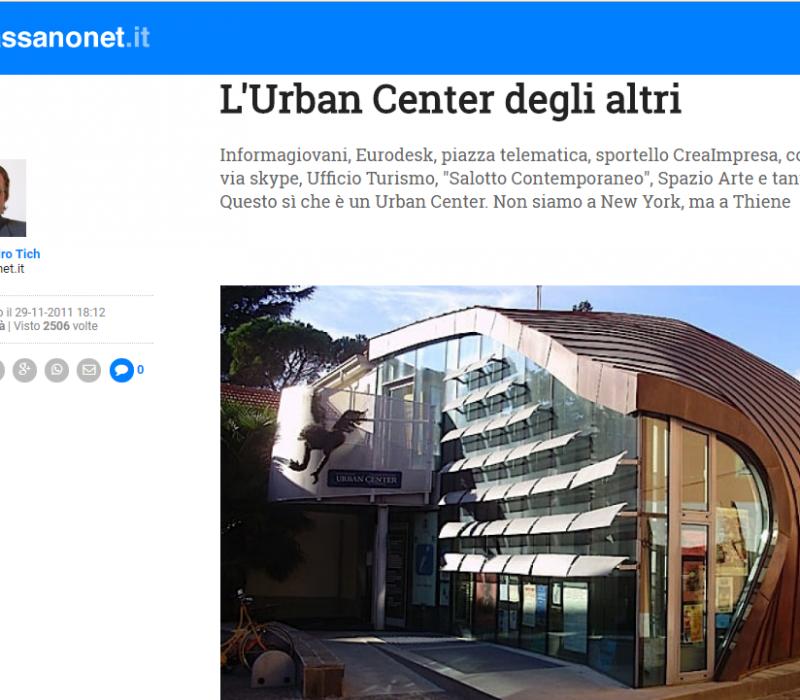 L'Urban Center degli altri – Bassanonet