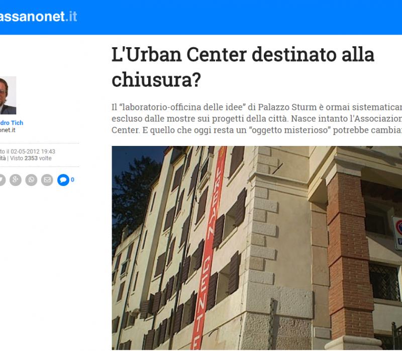 L'Urban Center destinato alla chiusura? – Bassanonet