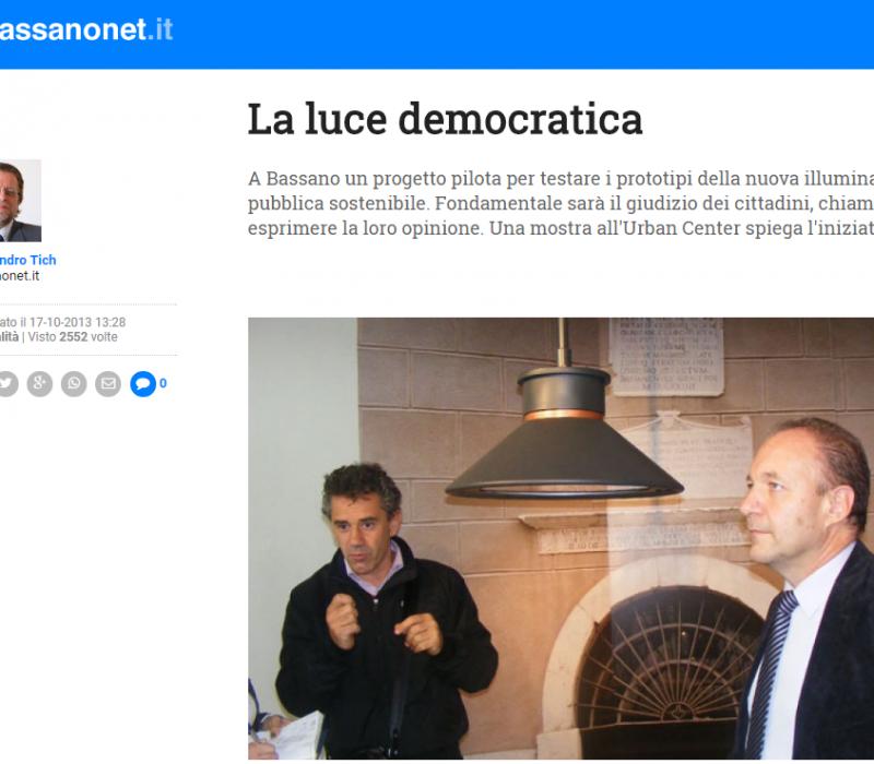 La luce democratica – Bassanonet