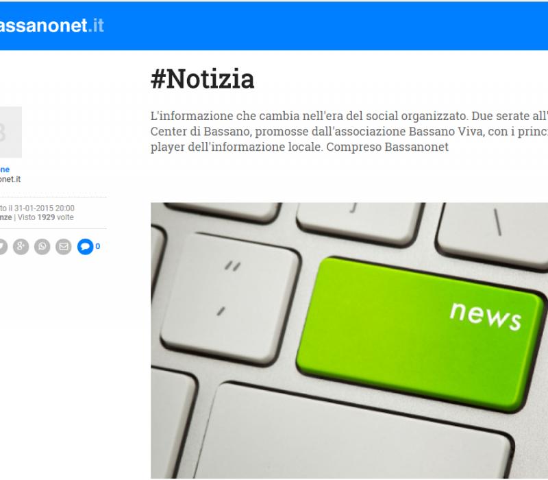 #Notizia – Bassanonet
