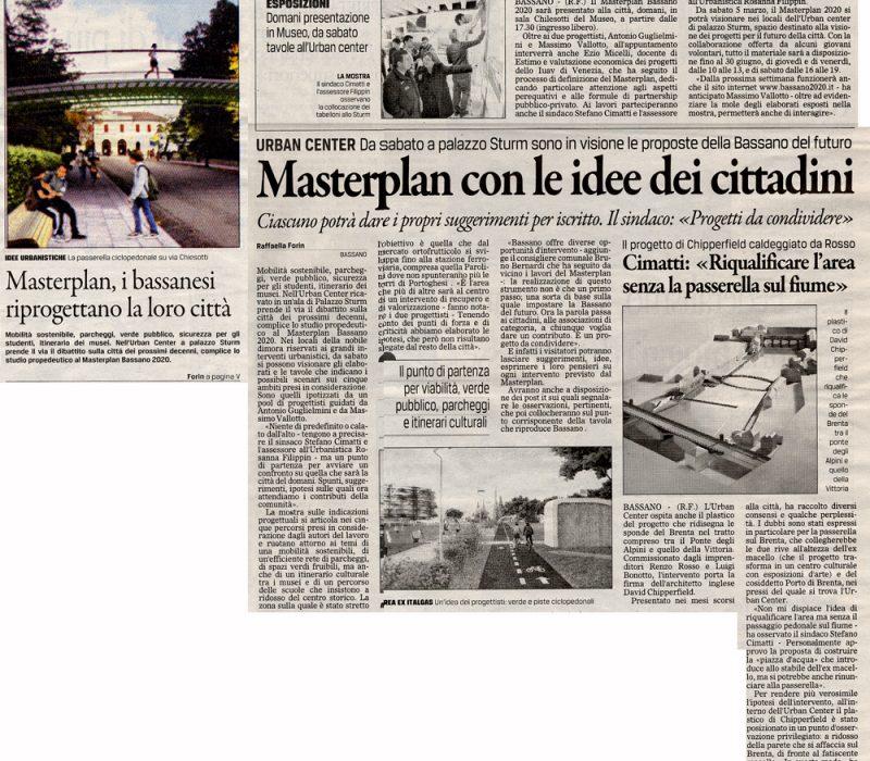 Masterplan con le idee dei cittadini – Il Gazzettino
