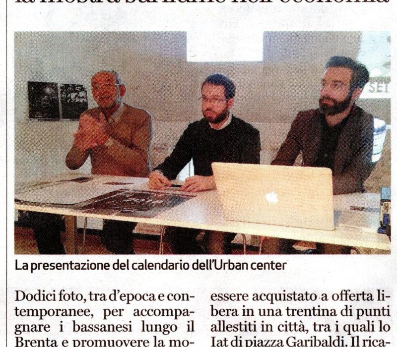 Dall'Urban center il calendario 2018 dedicato al Brenta