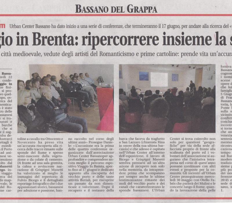 Viaggio in Brenta: ripercorrere insieme la storia – Bassanoweek